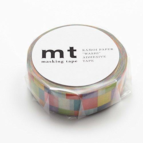 MT Washi Masking Tape Mosaic Bright (MT01D176)