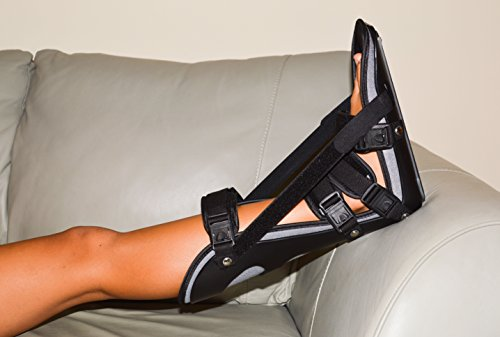 StrictlyStability Plantar Night Boot with 4 Straps, Double Sided Buckles, 2 Stretch Wedges & Massage Ball (Small) by StrictlyStability (Image #8)