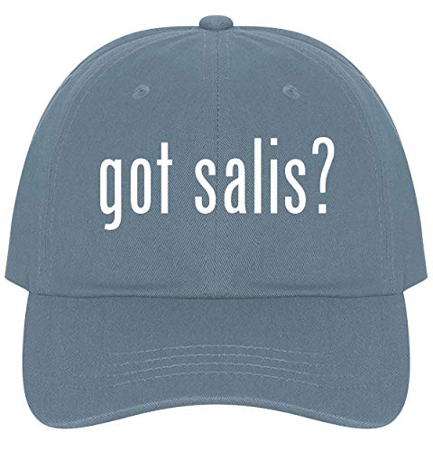 The Town Butler got salis? - A Nice Comfortable Adjustable Dad Hat Cap, Light Blue