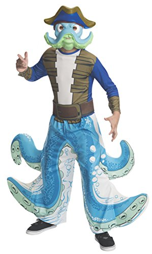 Rubies Skylanders Swap Force Wash Buckler Costume, Child Small (Skylander Costumes For Boys)