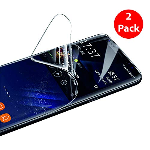 Starred (2 Pack) Screen Protector TPU Film for Samsung Galaxy Note 8/ Note 9 [Curved Edge] [Bubble-Free] HD Clear Flexible Shield - Free Shield Screen