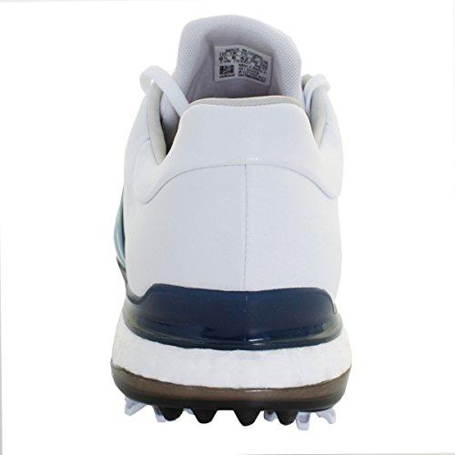 Adidas Tour Leder 2 Icy White Boost 2017 Golfschuhe Herren Spike 0 wasserdichte Blue 360 Fitting Wide fr4Tnfpq