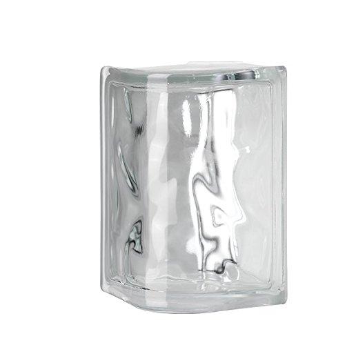 4X8X4 NUBIO ROUND CORNER GLASS BLOCK by Seves Glass Block