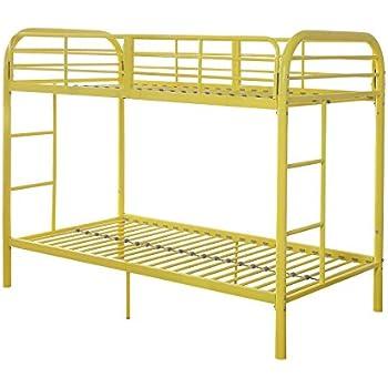 Amazon Com Acme Furniture 02178yl Thomas Bunk Bed Twin