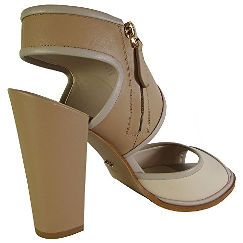 Kenneth Cole New York Womens Stacy Leather Pump Sandal Shoe Bone / Beige gZLDPcz1