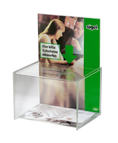 Sigel VA150 Promotional Box, clear, 8.86 x 11.81 x 6.68 inches