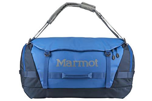 Marmot Long Hauler Extra-Large Travel Duffel Bag, 6700ci (105 Liter), Peak Blue/Vintage Navy