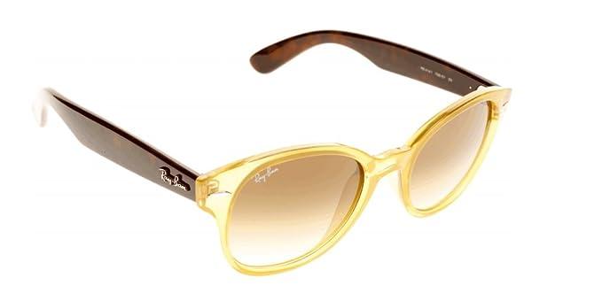 Ray-Ban Gafas de sol Para Mujer RB4141-768 51  Amarillo opalo Tortuga   Amazon.es  Ropa y accesorios ea734d324a44