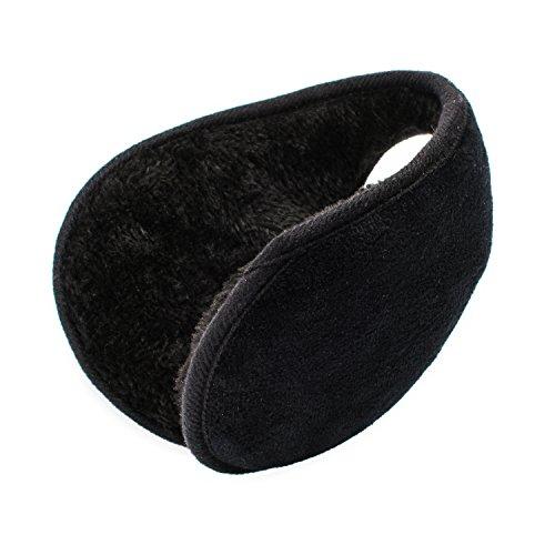 QXQY EarMuffs Unisex Classic Foldable Fleece Winter Outdoor Ear Warmer