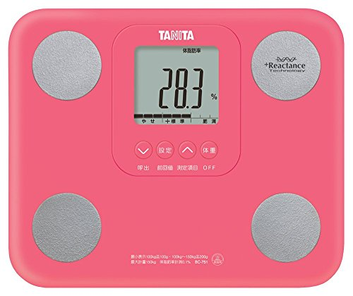 TANITA BC-751-PK InnerScan Body Composition Diet Monitor by Tanita