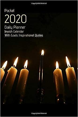 Jewish Holiday Calendar 2020 January Thr December 2020 Pocket 2020 Daily Planner Jewish Calendar With Goals Inspirational