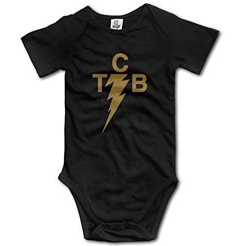 Newborn Clothes Elvis Presley The King Of Rock 'n'roll Tcb Logo Baby Outfits Onesies (Elvis Onesie)