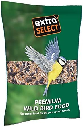 Extra Select Premium Wild Bird Food, 3 kg