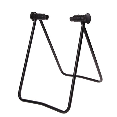 Adahill(TM) Portable Bicycle Bike Display Triple Wheel Hub Repair Stand Kick Stand for Parking Holder by Adahill