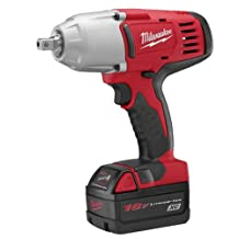 Milwaukee 2662-22 18-Volt M18 1/2-Inch High-Torque Impact Wrench with Pin Detent