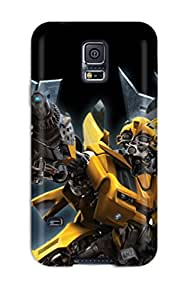 Hot Fashion PfOSbZb19592dvoWR Design Case Cover For Galaxy S5 Protective Case (transformers Age Of Extinction)