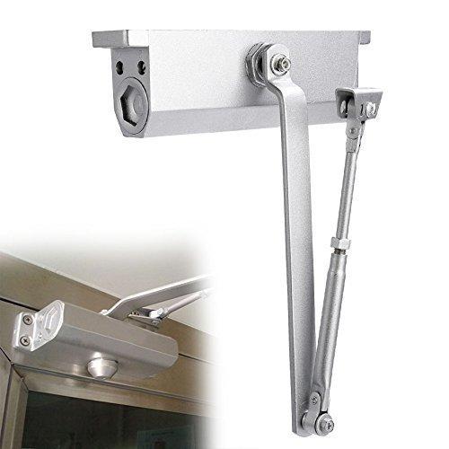 Kaluo Commercial Grade Door Closer Aluminum Alloy Residential Automatic Door Controls, 265 lbs Capacity, Size 3 Spring