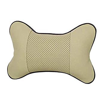 Noth-Too Franchise1PC Car Auto Seat Head Neck Rest Cushion Headrest Pillow Pad 0701 Mats Color : Black