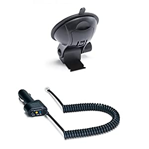 Escort Accessories Combo Pack Max/Max2 StickyCup Windshield Mount and Deluxe SmartCord (Blue Light).