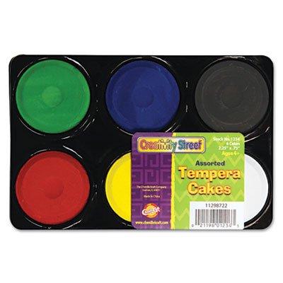 Chenille Kraft Company tempera Blocks, non-toxic, 6 set, assortiti