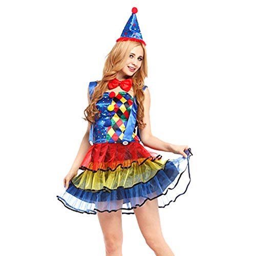 Clown Costume Fashion Creative Party Costume Cosplay Costume for Women ()