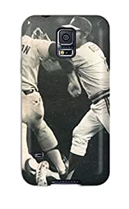 Hot 7774559K484005276 oakland athletics MLB Sports & Colleges best Samsung Galaxy S5 cases