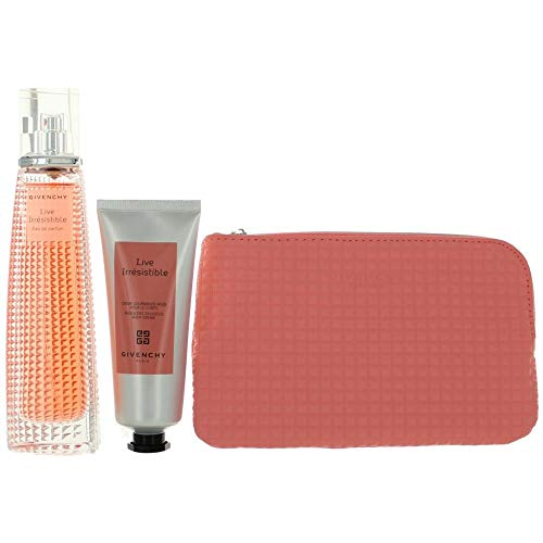 One Ounce Edp 2.5 - Live Irresistible Travel Retail Exclusive Set EDP 2.5 oz + Body Cream + Trousse Pouch