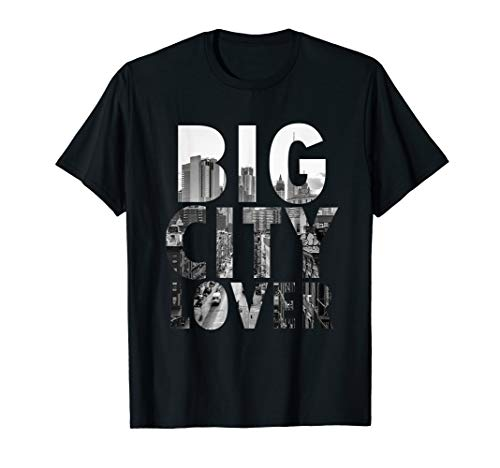 Big City Lover New York T Shirt NYC Liberty -