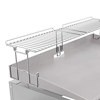 """Yukon Glory Griddle Warming Rack, Designed for 36"""" Griddles, New & Improved Design, One-Step Clip on Attachment (Not for Pro-Series)"""