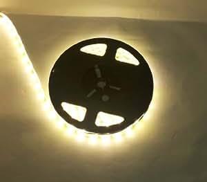 hkbayi 16.4FT 5M 300 Leds 5630 Warm White LED Strip Light Waterproof flexible LED Strip 60LED/m