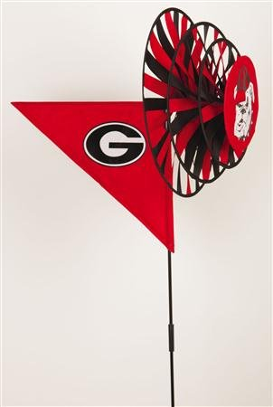NCAA Georgia Bulldogs Yard Spinner- ()