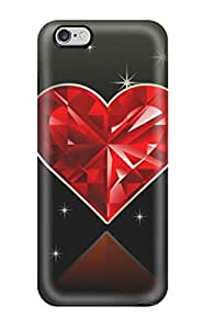 Durable Hearts Mobile Back Case/cover For Iphone 6 Plus