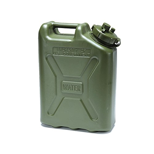 Price comparison product image USGI Plastic Water Can, 5 Gallon, Green
