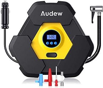 Audew Portable Air Compressor Tire Inflator with Gauge