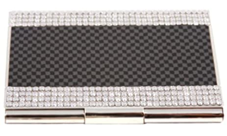 Amazon swarovski crystal carbon fiber metal business and swarovski crystal carbon fiber metal business and credit card holder colourmoves