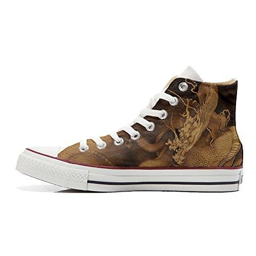 Chaussures avec artisanal produit Coutume dragon Customized le Converse 4qxIPwX55