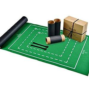 Jaques Of London Rotolo Di Puzzle Tappetino Per Puzzle Per Conservare Il Vostro Uso In Jigsaw Materiale Per Baionetta Di Aggancio Facile
