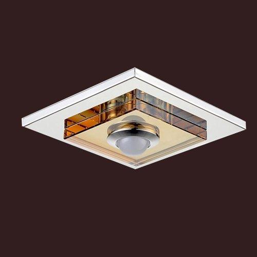 Track light fixture amazon lightinthebox 3w led amber crystal ceiling light 1 light flush mounted modern home ceiling light fixture flush mount pendant light chandeliers lighting mozeypictures Gallery