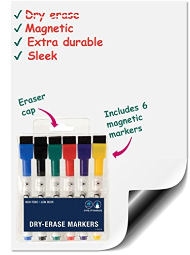 Premium Magnetic Whiteboard Markers 60876668980