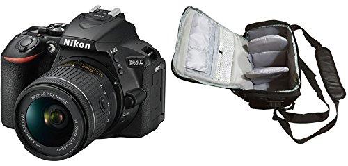 D5600 DSLR Camera + AF-P 18-55mm VR + KamKorda Pro Camera Bag