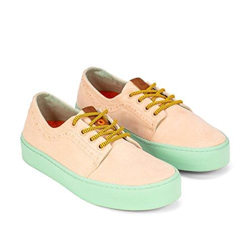 Salmon Life Turquoise Sneaker Size 38 Unisex Lhasa Flamingos' 7EaBqa