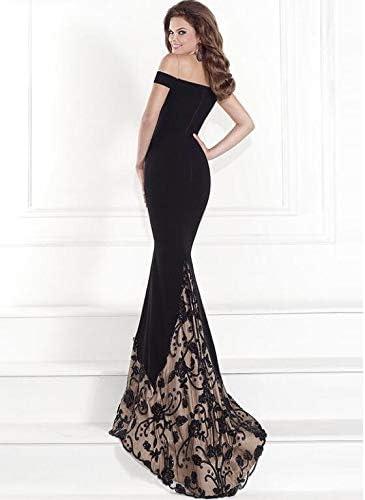 QQH New Formal Dresses,Womens Tube Dresses,Ladys Strapless Dresses Black