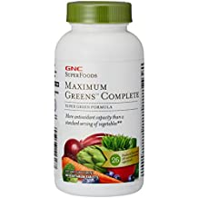 GNC Maximum Greens Complete Tablet, More Antioxidants than Standard Serving of Vegetables - 90 Count