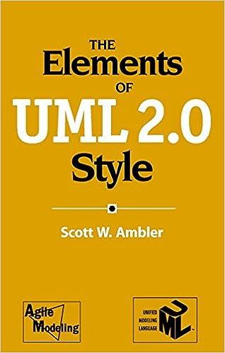 The Elements of UML(TM) 2.0 Style
