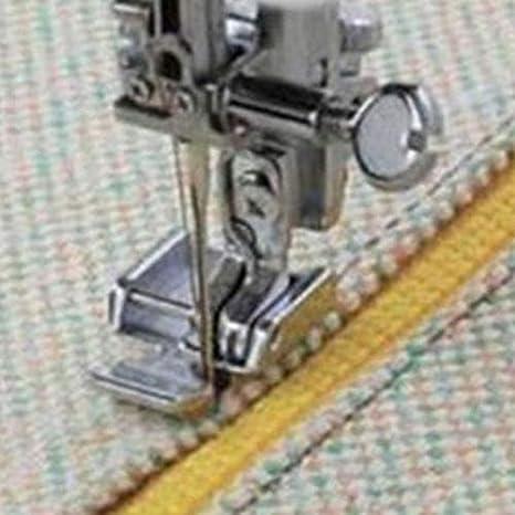 Prensatelas para coser con cremallera de metal para máquina de ...