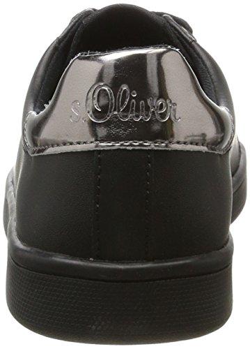 black S 23608 oliver Femme Basses Noir Sneakers ZwZan6PYxr
