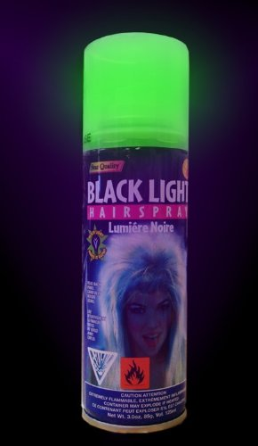 Black Light & UV Reactive Hair Spray #18008