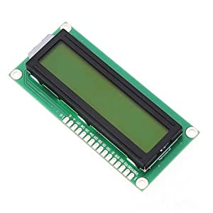 Tolako 1602 16X2 Olivine Backlight LCD1602 Display Screen Dot Matrix Module for Raspberry Pi