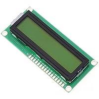 Tolako 1602 16X2 Olivine Backlight LCD1602 Display Screen Dot Matrix Module for Raspberry Pi