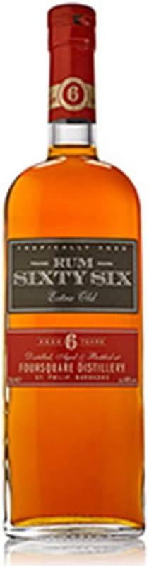 Sixty Six Rum 6 Años - 700 ml: Amazon.es: Alimentación y bebidas